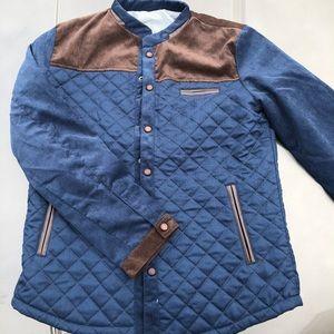 Quilted Blazer Shirt